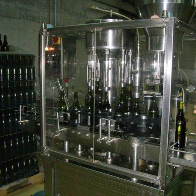 Domaine Pastou , la mise en bouteille
